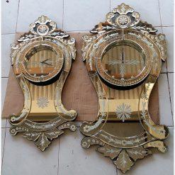 Jam Dinding Mirror