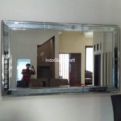 Cermin dinding persegipanjang
