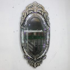 CD 004032 Venetian Mirror Oval Andrea