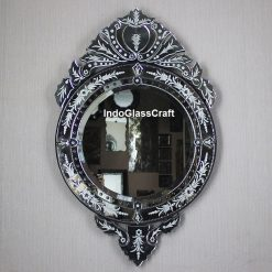CD 004041 Venetian Mirror Round